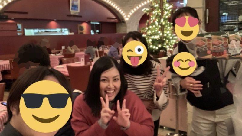 ヤナマリダイエット友人たちとの写真